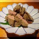 45230663 - 鶏肝の低温生姜煮
