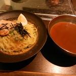 黒松家餃子 - つけ麺(ハーフ)