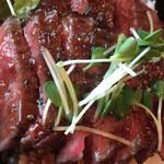 Red Rock - 和牛ステーキのボリュームも充分あります。