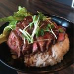 Red Rock - ■和牛ステーキ丼 1700円
