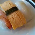 すたみな太郎 - 海老、卵、イカ