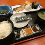 かっぱ亭 - 朝食 日替わり魚定食
