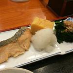 かっぱ亭 - この日は鮭でした