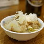 串かつ でんがな - 2015.12 牛もつ塩煮込み(362円)