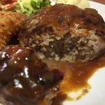 洋食marco - ハンバーグ(肉汁ジュワー)
