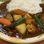 クミン - 野菜のカレーS