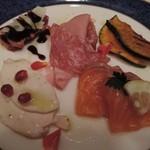 45235342 - 7500円イタリアンフェアのディナー前菜