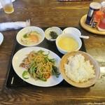 45236052 - 再訪:青椒肉糸定食