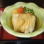 和風ダイニング MINORI  - 今日は湯葉、揚げ出し豆腐、さばの塩焼き