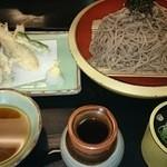 和風ダイニング MINORI  - 天ぷらざるそば大盛(税込1,230円)