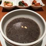 韓国料理 水刺齋 - 黒ごま粥