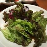 韓国料理 水刺齋 - 旬菜のサラダ
