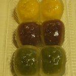 ナダシンの餅 - 水まんじゅう 中身 ※2010年7月