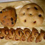 翠玉堂 - ブドウパン、フォカッチャ、ベーコンエピ