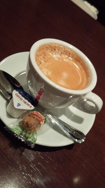 ビストロ シャンパーニュ - 食後のカフェ