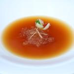 ヌーベルシノワ 玻璃 - 燕の巣コラーゲン 金華ハムの香り漂う極上ブラウンソース(1名様)