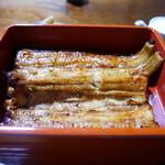 鷹番 宮川 - 料理写真:鰻組重「へ」(3500円)