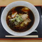 小矢部川サービスエリア 下り線 レストラン - 富山ブラックラーメン