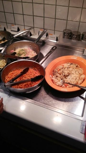 スイーツパラダイス ららぽーとTOKYO-BAY店 - パスタと炊き込みご飯