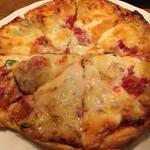 45246091 - ミックスピザ。