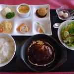 西櫻亭 - ハンバーグ御膳