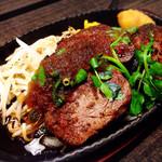 鐵 - フィレステーキ&ハンバーグ(lunch)。