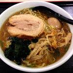 匠亭 - 料理写真:煮干ししょうゆラーメンを大盛り790円
