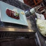 ダチョウレストラン 太らん - たたきー(\600)♪