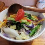 中華そば de 小松 - 能登野菜たっぷりタンメン(数量限定)