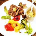 Ms.Plate - イベリコ豚と野菜ソテー(・∀・)