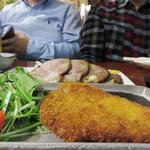 土竜が俺を呼んでいる - 魚ロッケ(ギョロッケ)。 魚のすり身のパン粉揚げです。
