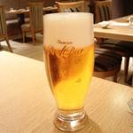 ビストロヴァリエ - ビール600円+税