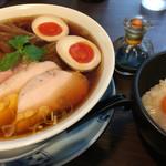 45251596 - 特製醤油らぁ麺、本気のTKG