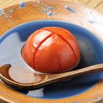 銀座よしひろ - 名物トマトおでん