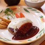 とくら - チーズハンバーグ300g和食セット