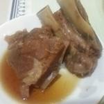 45254861 - ソーキ肉です。柔らかく煮込まれてます。