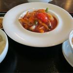 中国料理工房 三好 - 海鮮のチリソースセット