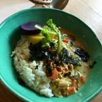 シボネボルケ - 野菜のカレー。