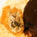 キッチンパパ - ハンバーグ&カキフライ(カキフライ)