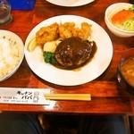 キッチンパパ - ハンバーグ&カキフライ