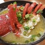 まさご屋 - 玄海の海の伊勢海老を味噌汁で(*^o^*) 贅沢の極みです(^_−)−☆
