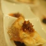 中華&日本酒バル ぼぶ - 醤油とラー油