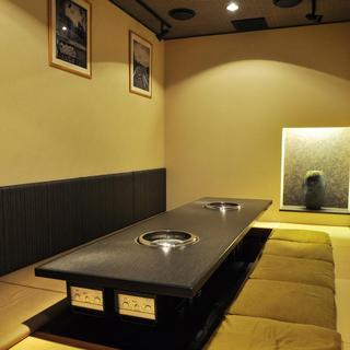 【VIP個室、大個室】和洋が融合したお洒落で落ち着いた店内◎