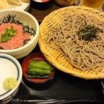そじ坊 - ネギトロ丼セット