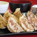 ぎょうざ屋 こころ - 料理写真:ジューシーみそ餃子定食600円