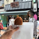 肉のすずき - 元気メンチカツ(200円)