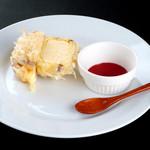 天ぷら新宿つな八 - アイスクリームの天麩羅