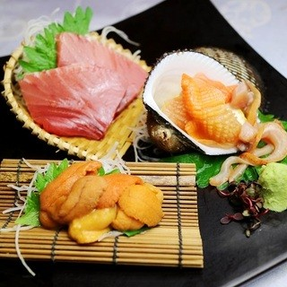 ■厳選した魚介類■