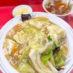 中華 八十番 - 中華丼(580円)