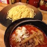 つけ麺屋 やすべえ - 辛味味噌つけ麺(860円)
